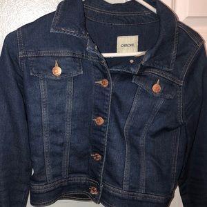 VERY LIGHTLY USED jean jacket